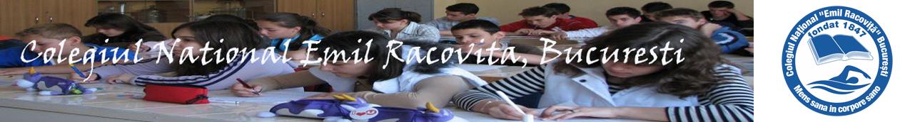 Colegiul National Emil Racovita din Bucuresti